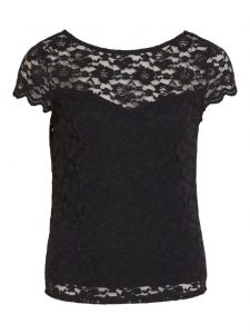 Vila lace top black €26,99